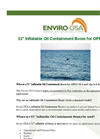 Enviro-USA - Model 52 - Inflatable Oil Containment Boom for Open Sea Datasheet