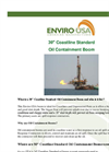 Enviro-USA - Model 30 Inch - Coastline Standard Oil Containment Boom Datasheet