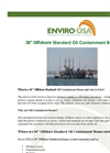 Enviro-USA - Model 36 Inch - Offshore Standard Oil Containment Boom Datasheet