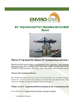 24″ Unprotected Port Standard Oil Containment Boom Datasheet
