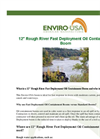 Enviro-USA - Model 12 Inch - Rough River Fast Deployment Oil Containment Boom Datasheet