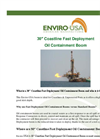Enviro-USA - Model 30 Inch - Coastline Fast Deployment Oil Containment Boom Datasheet