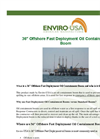 Enviro-USA Economy - Model 36 Inch - Offshore Fast Deployment Oil Containment Boom Datasheet