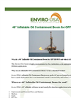 Enviro-USA - Model 46 - Inflatable Oil Containment Boom for Offshore Datasheet