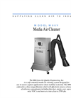 Model M66V - Media Air Filtration Systems - Brochure