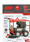 Hotsy - BD/BDE Series - Cold Water Pressure Washers  Brochure