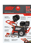 Hotsy - BX Series - Cold Water Pressure Washers Brochure
