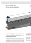 Roto-Sieve Rotating Drum Screens Brochure
