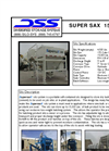 SuperSax - Model 1500 - Variable Speed Direct Drive Electrical Panel Brochure