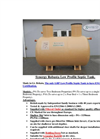 Synergy Robusta Low Profile Septic Tank Brochure