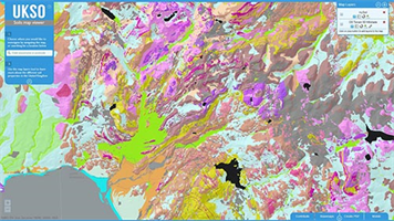 UK Soil Observatory Map Viewer Software
