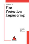 Journal of Fire Protection Engineering