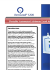 AeroLead - Model 1200 - Portable Automated Airborne Lead Analyzer - Brochure