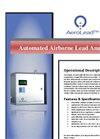 AeroLead - 2000 - Fixed-Mount Airborne Metals Analyzer Brochure