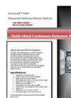 AeroLead - Model 3000 - Multi Metal Continuous Emissions Monitor Brochure