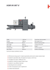 HSM - Model VK 807 V - Channel Baling Presses - Datasheet