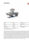 HSM - Model URP-L - Universal Recycling Presses - Datasheet