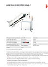 HSM DuoShredder 5540 Multiple Stage Shredder Systems - Brochure