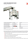 HSM TriShredder 6060 (P-4 | O-3 | T-4 | E-3 | F-1) Multiple Stage Shredder Systems - Datasheet