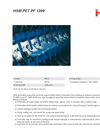 HSM PET - Model PF 1200 - PET/UBC-Perforators - Datasheet