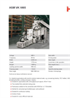 HSM - Model VK 1005 - Channel Baling Presses - Datasheet