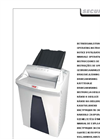 HSM - Model SECURIO AF150 - Document Shredder - User Manual