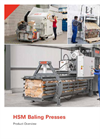 HSM V-Press 820 Plus Vertical Baling Presses - Datasheet