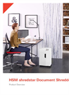 HSM shredstar Document Shredders - Product Overview Brochure