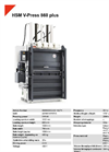 HSM V-Press 860 Plus Vertical Baling Presses - Datasheet