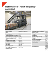HSM VK 8818 - 75 kW Frequency-Controlled Channel Baling Presses - Datasheet
