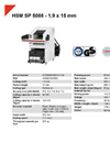 HSM SP 5088 1,9 x 15 mm Shredder Baler Combination - Datasheet