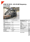 HSM VK 8818 - 45+45 kW Frequency-Controlled Channel Baling Presses - Datasheet