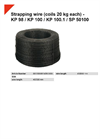 KP 98 / KP 100 / KP 100.1 / SP 50100 Strapping Wire (Coils 20 kg Each) - Datasheet
