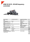 HSM VK 6215 - 55 kW Frequency-Controlled Channel Baling Presses - Datasheet