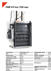 HSM V-Press 1160 max Vertical Baling Presses / Vertical Balers - Datasheet