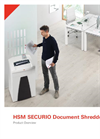 HSM SECURIO Document Shredders - Product Overview Brochure