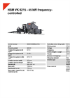 HSM VK 6215 - 45 kW Frequency - Controlled - Datasheet