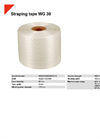 HSM WG 30 Straping Tape - Datasheet