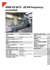 HSM VK 6015 45 kW Frequency-Controlled Compacting Channel Baling Presses - Datasheet