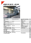 HSM VK 6015 - 45 kW Compacting Channel Baling Presses - Datasheet