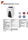 HSM SECURIO P36i - 5,8 mm Document Shredder - Datasheet