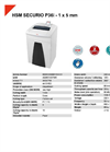 HSM SECURIO P36i - 1 x 5 mm Document Shredder - Datasheet