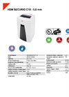 HSM SECURIO C18 - 5,8 mm Document Shredder - Datasheet