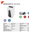 HSM SECURIO C18 - 1,9 x 15 mm Document Shredder - Datasheet