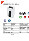 HSM SECURIO C16 - 5,8 mm Document Shredder - Datasheet