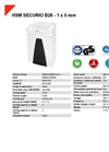 HSM SECURIO B26 - 1 x 5 mm Document Shredder - Datasheet