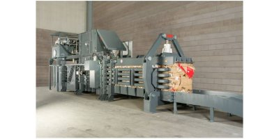 HSM - Model VK 15020 - Channel Baling Presses / Channel Balers