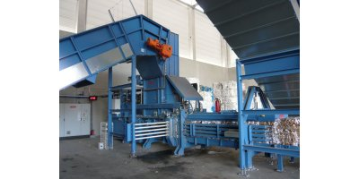HSM - Model VK 7215 - 75 kW Frequency-Controlled Channel Baling Presses / Channel Balers