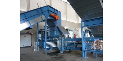 HSM - Model VK 7215 - 75 kW - Channel Baling Presses / Channel Balers