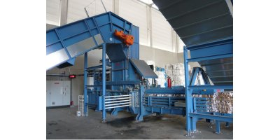 HSM - Model VK 7215 - 45 kW - Frequency-Controlled Channel Baling Presses / Channel Balers